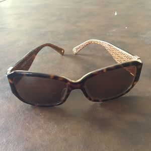 COACH SUNGLASSES WHITNEY S495 Tortoise/Brown